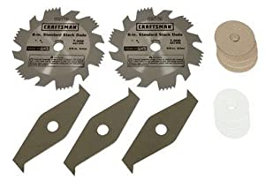 Craftsman 6 x 9 16 inch dado set circular saw for 10 dado blade for table saw