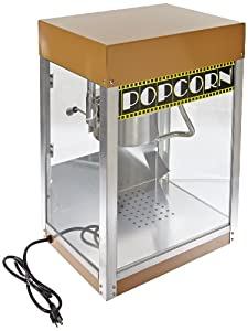 Benchmark 11048 Hollywood Premiere Popcorn Machine, 120V, 930W, 7.8A, 4 oz Popper