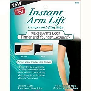Instant Arm Lift Lifting Stripes Against Flabby And