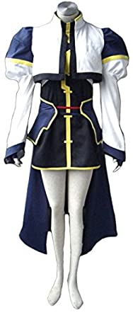 Going Coser Magical Girl Lyrical Nanoha Hayate Yagami Combat Uniform Cosplay Costume