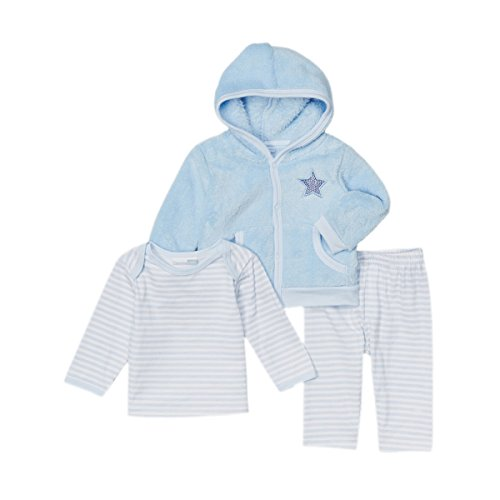 Vitamins Baby Baby-Boys Star 3-Piece Pant Set (Newborn)