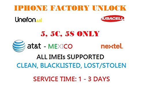 att-mexico-iusacell-nextel-unefon-iphone-factory-unlock-55c5s-onlydelivery-time1-3-business-daysplea