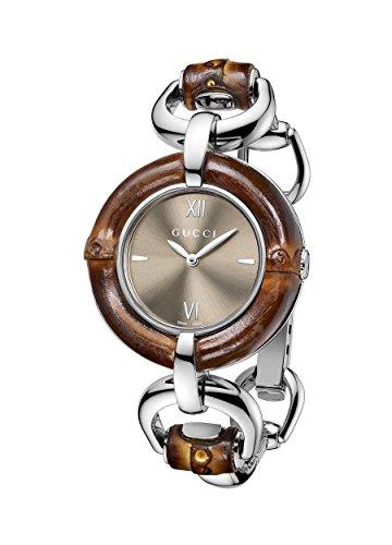 Gucci YA132402 - Orologio da polso, acciaio inox, colore: multicolore