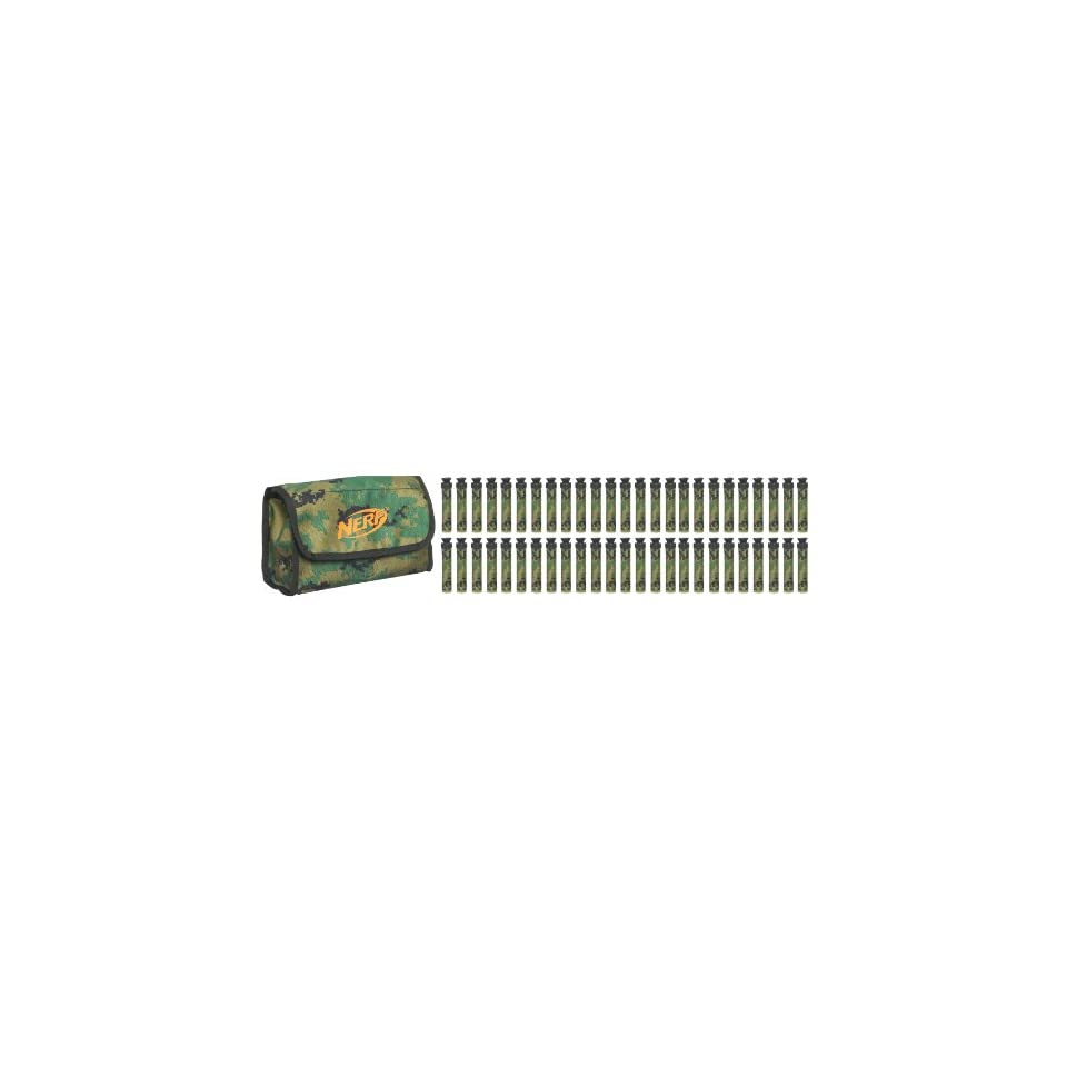 Nerf N Strike Ammo Bag Kit   Green with Camouflage