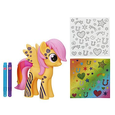 My Little Pony Friendship is Magic Exclusive Rainbow Power Design-a-Pony Scootaloo