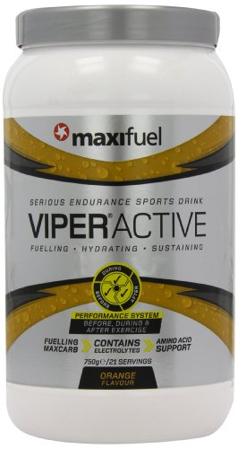 Maxifuel Viper Active 750 g Orange Energy Drink Powder