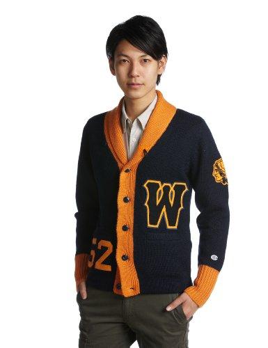 (チャンピオン)Champion Champion ウールカーディガン ネイビー(C3-YA02) C3-YA02-370