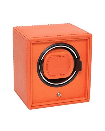 WOLF Cub Single Watch Winder, Orange As You See
