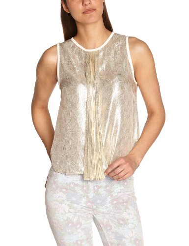 Manoush - Gilet, donna Oro (Doré (Gold)), 40 IT (36 FR)