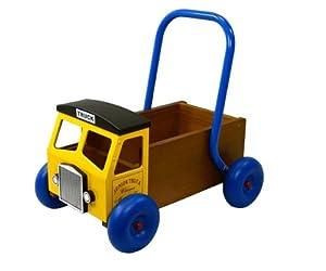 GREAT GIZMOS Wooden Baby Walker Truck - Yellow