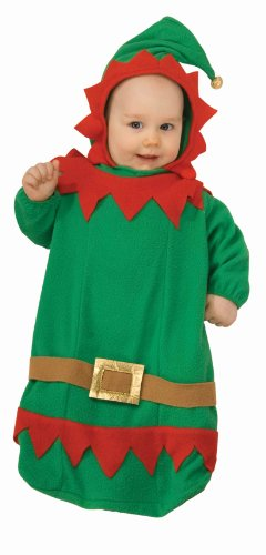 Forum Novelties Baby's Christmas Elf Bunting Costume