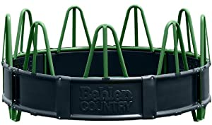 Behlen Country 26121012 Econo Horse Feeder with Poly Panel, Green