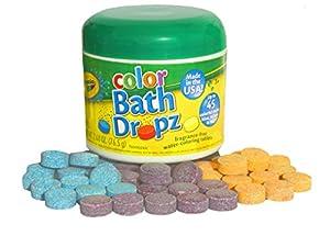 Play Visions Crayola Bath Dropz 2.68 oz 45 Tablets