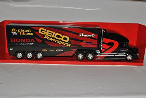 volvo-vn-780-geico-racing-rot-schwarz-truck-lkw-1-32-new-ray-modell-auto