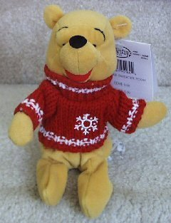 Disney Snowflake Sweater Pooh Bear