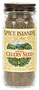 Spice Islands Celery Seed, Whole, 2.2-Ounce (Pack of 3)