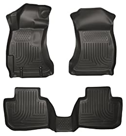 Husky Liners 99801 WeatherBeater Black Front and 2nd Seat Floor Liner