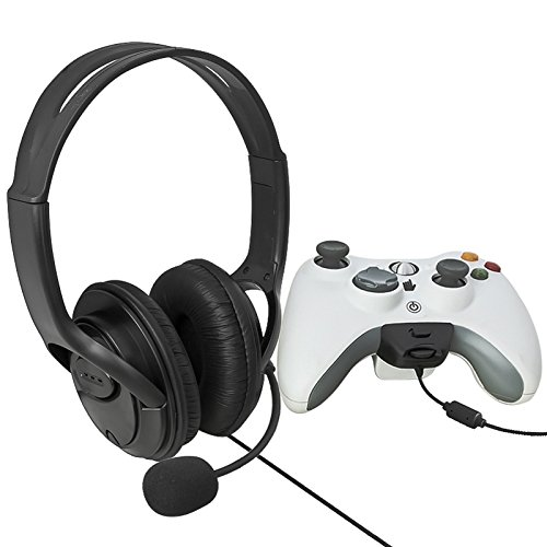 Everydaysource® Compatible With Xbox 360 Xbox360 LIVE Two Black Big Headset with Microphone MIC Eraphone игра для xbox xbox360 xbox360 homefront f13532
