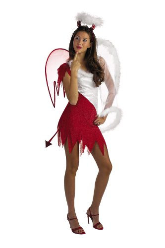Heavenly Devil Adult Costume (Angel Devil compare prices)