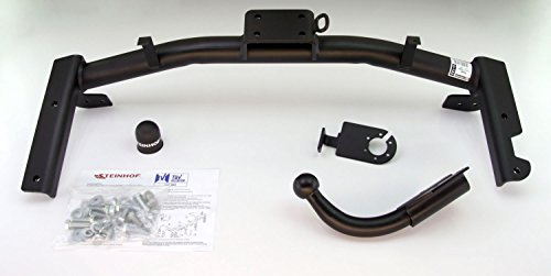 Anhngerkupplung-starr-fr-Opel-Corsa-C-35-Tr-102000-2006-Steinhof-AHK-mit-universalem-E-Satz-13-polig