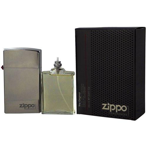 Zippo, Set regalo da Uomo, include Eau de Toilette (50 ml), e ricarica Eau de Toilette Original Fragrances (50 ml)