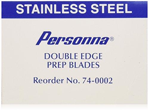 Personna Prep Double Edge Razor Blades - Model 74-0002 - Box of 100 (Personna Blades Double Edge compare prices)