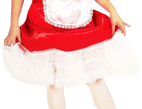 Forum Novelties Child Size White Crinoline Petticoat Tutu Skirt