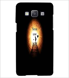 PrintDhaba Quote D-4738 Back Case Cover for SAMSUNG GALAXY A5 (Multi-Coloured)