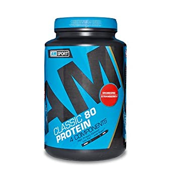 AM Sport CLASSIC 80 PROTEIN - 4 COMPONENTS PROTEIN - Erdbeere 700g