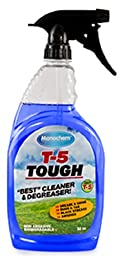 Worldwide Monochem T5Tough-1GAL T-5 Tough Concentrated Heavy Duty Cleaner and Degreaser , 12\