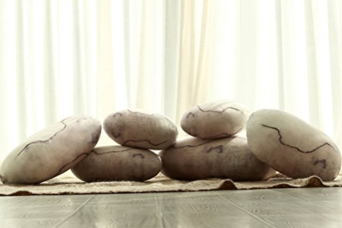 Zen Floor Pillows : Zen Stone Floor Pillows