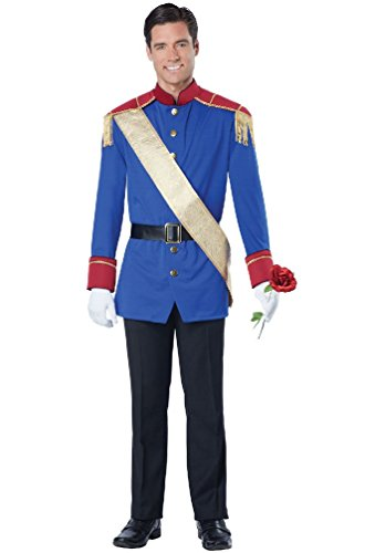 8eighteen Storybook Charming Prince Fairytale Adult Men Costume
