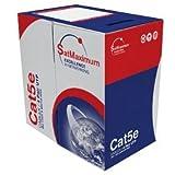 CAT5E, UTP, Bulk Cable, Solid, 350MHz, 24 AWG, Orange, 1000 ft. CAT 5 Cable Bulk, CAT 5 Cable Bulk