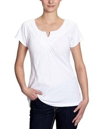 Eddie Bauer Damen T-Shirt, 22202688, Gr. 32 (XS), Weiß (Weiß)