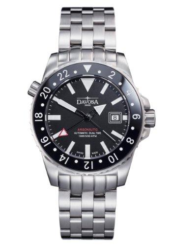Davosa 16151220 Montre bracelet Homme, Acier inoxydable, couleur: argent
