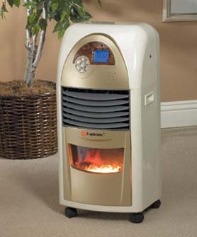 Image of Bio-Flame Portable Heater/Fan/Ionic Air Purifer (B000NO3XGG)