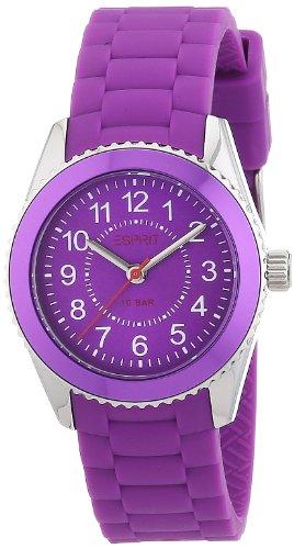 Esprit - ES106424006 - Montre Mixte - Quartz Analogique - Bracelet Résine Violet