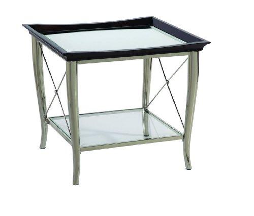Cheap Bassett Mirror Co. Thaxton Swedge Leg End Table – T2608-200 (T2608-200)