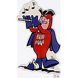 """Budweiser Bud Man Stickers Bicentennial (1976) """"Yankee Doodle Dandy - Flute"""" ~ Budweiser"""