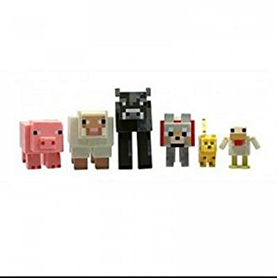Minecraft Animal Toy 6 Pack by Mojang