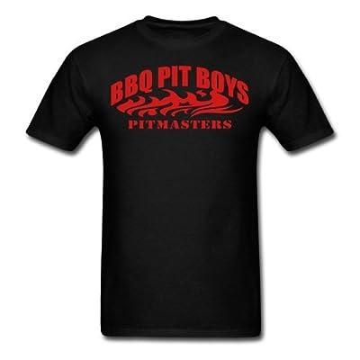 Spreadshirt Men's BBQ Pit Boys Pitmasters T-Shirt