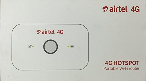 Airtel 4G Wifi Dongle/DataCard - Huawei - Inbuild Battery - Prepaid - with 8gb 4G Data Usage
