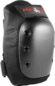 Triple 8 Kp-Pro Knee Pad [Large] Black by Triple 8