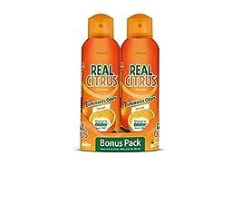 OdoBan Real Citrus Air Freshener, Orange (6 Ounces, 4 Pack)