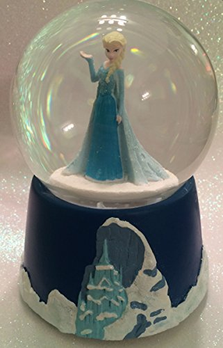 Disney Frozen ~ Elsa Musical Water Globe ~ Wind Up