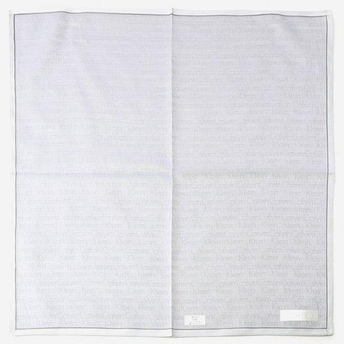 ck カルバン・クライン(ハンカチ・タオル)(ck Calvin Klein) ハンカチ(先染めメンズハンカチ)【グレー/1サイズ】