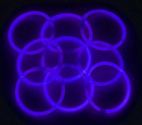 8″ Lumistick Glowsticks Glow Stick Bracelets BLUE (Tube of 100)