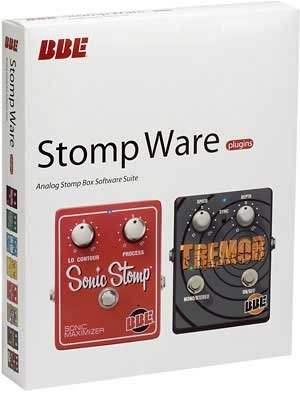 Brand New Bbe Stomp Ware Professional Plug-Ins For Eight Stomp Boxes Including Free Fuzz, Green Screamer, Mind Bender, Opto Stomp, Sonic Stomp, Soul Vibe, Tremore, And Two Timer