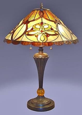 tiffany desert sun table lamp