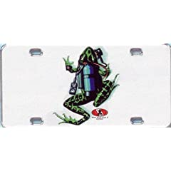 Buy Innovative Scuba Frog Metal License Plate by Amphibious Outfitters